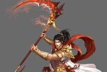 Nhân vật chính Hầu Vương - Tôn Ngộ Không / Hầu Vương (Tô Ngộ Không) là nhân vật chính trong game chính thức phát hành 11/4/2014.