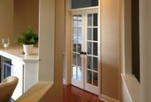 Interior Painting Projects / The Painting Craftsmen specializes in interior painting projects such as custom painting, faux finishing, cabinet refinishing, custom wallpaper, drywall repair, textured ceiling repair and wallpaper removal.