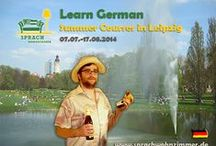 Sprachkurse - Language Courses / German Summer Courses @ The Sprachwohnzimmer in the fair city of Leipzig - the place to be for this summer! Deutsches Bier und Bratwurst are waiting for you!