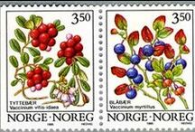post stamps from Norway