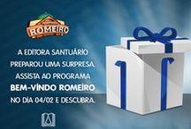 Promoções / Fique por dentro das promoções da Editora Santuário ;)
