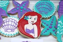 Little Mermaid Party / A collection of ideas for a Little Mermaid Party including Little Mermaid Decoration Ideas, Little Mermaid Food Ideas, Little Mermaid Favor Ideas, Little Mermaid Dessert Ideas, Little Mermaid Cake Ideas and Little Mermaid Cupcake Ideas. We collected ideas for everything you'll need to throw the best Little Mermaid Party in the entire Atlantica! / by Two Sisters Crafting
