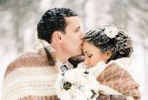 Inspirations mariage / Mariage d'hiver rustique et romantique