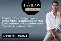 MY FASHION INSPIRATION / Die Must-Have's der Saison, Styling-Tipps und neue Looks jetzt exklusiv von unseren Fashion-Experten für Sie zusammengestellt! Lassen Sie sich inspirieren...