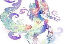 Supercute Fantasy Creatures & Ideas