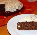 Receipts - cakes