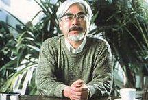 Hayao Miyazaki / by Lea Fox