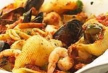 Seafood and fish dishes  / Glorious seafood and fish