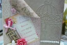 My Handcrafts / Lovely handmade cards using dies, embellishments and other crafty things.