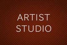 ESTUDIOS DE ARTISTAS. ARTIST STUDIO / Fotografías de los estudios donde trabajan los artistas.