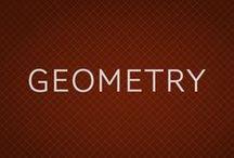 GEOMETRY / Geometría en todas sus formas, dibujos, diseños, ilustraciones, fotografías y arquitectura.