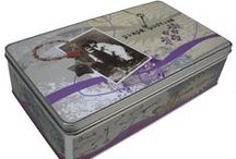 Metal boxes / Metal boxes designed by greek artists