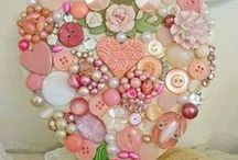 Vintage hearts / Creating beautiful vintage hearts