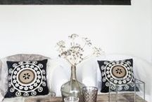 African Inspired french decor