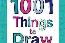 """Drawing References + Tutorials / The Curiously Creative explores a new arts & craft hobby every month! Join us to receive a FREE e-book on """"1001 Things to Draw"""" with tons of ideas for any artist for any medium. This board provides resources for how to draw many different things."""