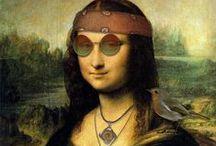 la Joconde - Mona Lisa mal anders
