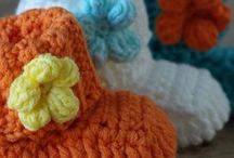 Crochet - Baby shoes