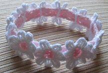 Crochet - Baby headbands