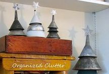 Winter Holiday Ideas / Make your holidays special with vintage and repurposed holiday decor.