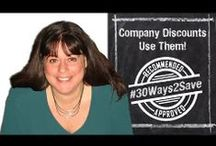 #30Ways2Save / It's #30Ways2Save for Financial Literacy Month. For the entire month of April, I'll upload quick video tips for living well on a budget.