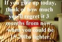 Motivation for werkin oot