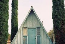 Home studio/cabin inspiration
