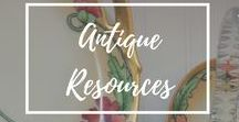 Antique Resources / Information and links we've sifted through to bring you guides and advice on antiques and collectibles