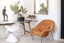 GET THE LOOK   Desert Southwest Decorating Ideas / When decorating a room in the Southwestern style, there are no specific rules or simple guidelines to follow. Instead, this trendy look calls for the careful juxtaposition of colors and layering of Southwestern elements.