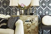 Art Deco / What decade do you draw interior inspiration from?  1920s Art Deco style combines with vintage Hollywood glam to bring you a lavish living space with a dash of pizzazz.