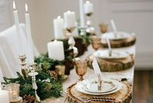 Holiday Dining / Is your home family, friend, and Santa ready? Celebrate the season in style with a dazzling traditional tablescape plus all the trimmings for a holiday they'll never forget.
