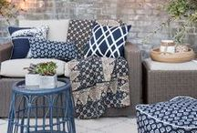 OUTDOORS   Cozy Comfy Outdoor Living / Everyone loves a friendly barbecue or a perfectly planned event where family comes together. Why not celebrate every special occasion in comfort and style? With patio lounge furniture, you can enjoy all of the luxury the outdoors has to offer anytime, anyday, With your own personal oasis seconds from the walls of your home, you might just be tempted to spend all of your time lounging in the sun and taking in the crisp air.