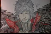 my drawings / this is my a collection of the best drawings.