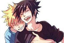 Naruto - Naruto x Sasuke (Sasunaru) / For non-yaoi pics -> Naruto: Naruto & Sasuke