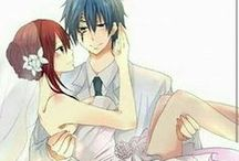 Fairy Tail - Erza x Jellal (Jerza) / My favourite couple from Fairy Tail! <3