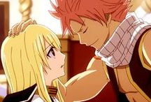 Fairy Tail - Lucy x Natsu (Nalu) / They're are awesome! <3
