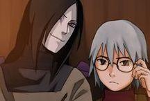 Naruto - Orochimaru & Kabuto Yakushi
