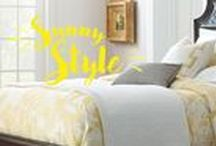 COLOR CRUSH   Yellow / Your living space should be welcoming, beautiful, and embody your personality and interests.