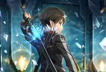 Sword Art Online / Perfect anime and Kirito too! :D