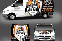 Vehicle Wrap Artwork