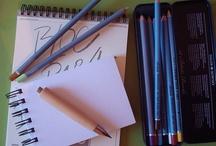 Painter arms // Armas de pintor / Algunas de las herramientas que utilizan los pintores para plasmar sus obras...