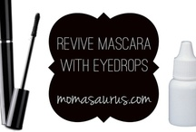 Beauty Tips, Tricks & DIY  / Quick tips & tricks when you're outta something or simply want to save a buckaroo.  For more visit Momasaurus.com