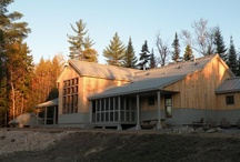 The Huts / 4 Backcountry eco-lodges nestled in the Western Mountains of Maine, connected by 80 miles of scenic trail.