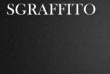 Sgraffito ceramics/sculpture