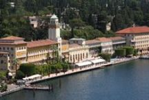 Grand Hotel Gardone / Built in 1884 as the first hotel on Lake Garda, the Grand Hotel Gardone testifies the elegance and style of an era. The view of the lake is majestic, refined and very picturesque, and becomes even more glorified with the ever changing light, sun and shades during the day and night.