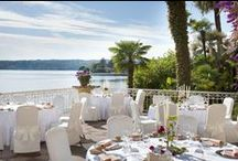 Grand Weddings / You can decide to celebrate one of the special days of your life in a dream choosing the Grand Hotel Gardone as location for your wedding reception. It will become a memorable event.