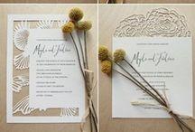 Papelería bodas - Wedding stationery