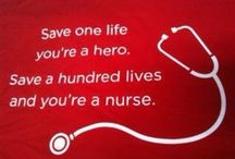 Nurse Pinspiration / Inspiration for all the nurses out there!