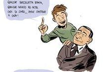 Humor / vignette e fumetti satireggianti