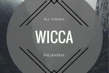 All Things Wicca / A Magickal Grimoire filled with All Things Wicca, Pagan, God & Goddess, Spells, Dark Arts, Light Work, Elements, Brooms, Altars, Cauldrons, Wands & endless Witchy DIY's & inspiration!