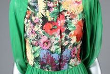 1930s / Fashion of the 1930s: original pieces from Kerry Taylor Auctions, London http://www.kerrytaylorauctions.com/